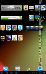 Jelly Bean HD tema screenshot