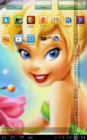 Capture d'écran Tnkerbell thème