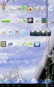 Winter Theme 01 theme screenshot