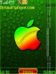 3d Apple theme screenshot