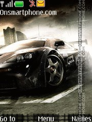 Скриншот темы Nfs Mobile Game With Tone