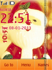 Santa Claus 07 theme screenshot