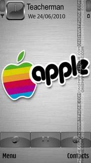 Скриншот темы Apple Logo