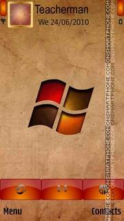Скриншот темы Logo Windows