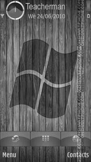 Скриншот темы Windows Grey Logo