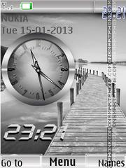 Grey Clock es el tema de pantalla