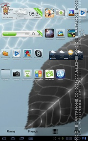 Clear View Lite theme screenshot