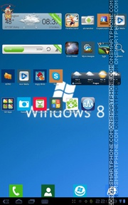 Windows 8 12 theme screenshot