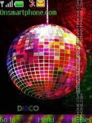 New Year Club Night theme screenshot