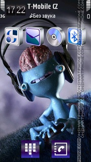Brain theme screenshot