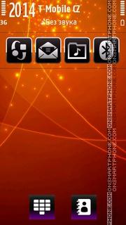 Sparks fly 01 es el tema de pantalla