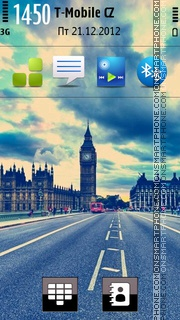 Big Ben - London theme screenshot