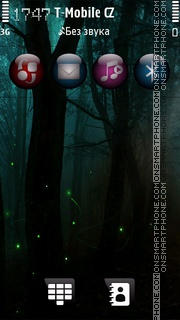 Dark nature theme screenshot