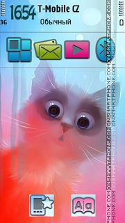 Cat 21 theme screenshot