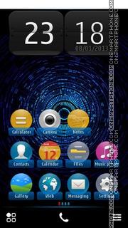 Скриншот темы Mystic Halo fp1