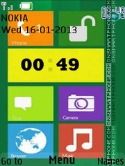 Lumia Latest Version theme screenshot