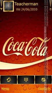 Coca Cola Logo theme screenshot