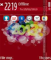 2013 02 es el tema de pantalla