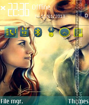 Twilight Couple 06 theme screenshot