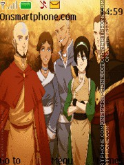 Скриншот темы Avatar The Legend Of Aang