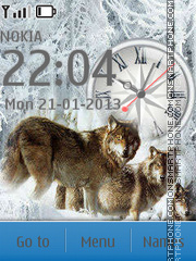 Wolves tema screenshot