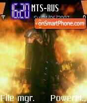 Sephiroth es el tema de pantalla