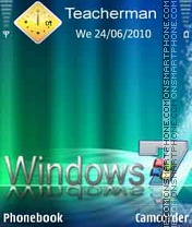 Windows7 Colors es el tema de pantalla