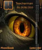 Dinosaur_Eye Theme-Screenshot
