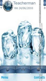 3D Ice Cubes es el tema de pantalla