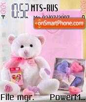 My Bear 01 theme screenshot