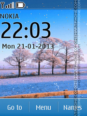 Winter Beauty theme screenshot