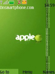 Green Apple 04 theme screenshot