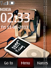 Music iPod nano theme screenshot