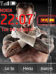 CM Punk 01 Theme-Screenshot