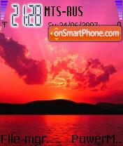 Kallols Sunset es el tema de pantalla