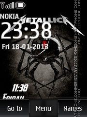 Metallica 25 theme screenshot