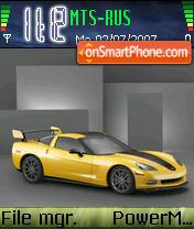 Corvette 01 es el tema de pantalla