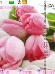 Love Tulips es el tema de pantalla