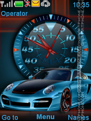 Porsche theme screenshot