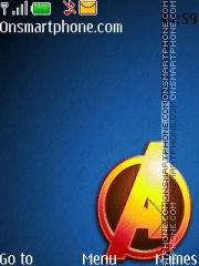 Avengers Logo theme screenshot