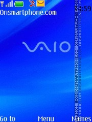 Sony Vaio theme screenshot