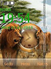 Lion Family theme screenshot
