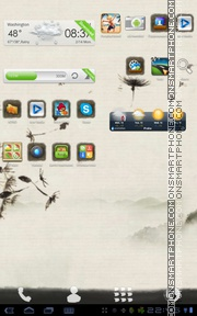 Ink theme screenshot