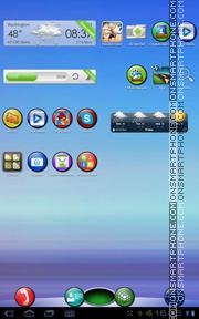 XO Colorful Circles theme screenshot