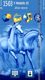 Horses 07 theme screenshot
