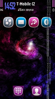 Galaxy Extreme 5th theme screenshot