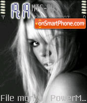 Billie Piper theme screenshot