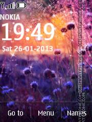Скриншот темы Amazing Flowers