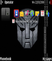 Transformer logo by Prasanta theme screenshot
