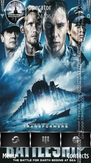 Battleship 01 es el tema de pantalla